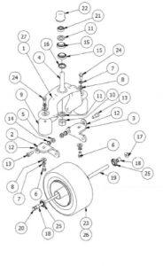 CAT Suspension Fork Assembly-1