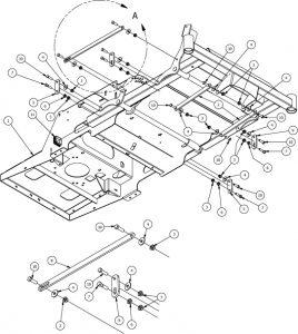 Deck Lift Assembly