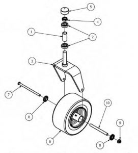 Front Fork Assembly