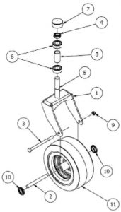 Front Tire Assembly